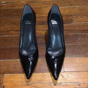 Stuart Weitzman pointed toe heels
